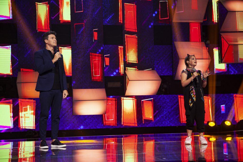 Com Ticiane Pinheiro e Rodrigo Faro, Canta Comigo Teen estreia neste fim de semana - Foto  Edu Moraes/ Record TV