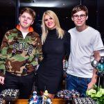 Val Marchiori comemora o aniversário de 15 anos dos filhos gêmeos