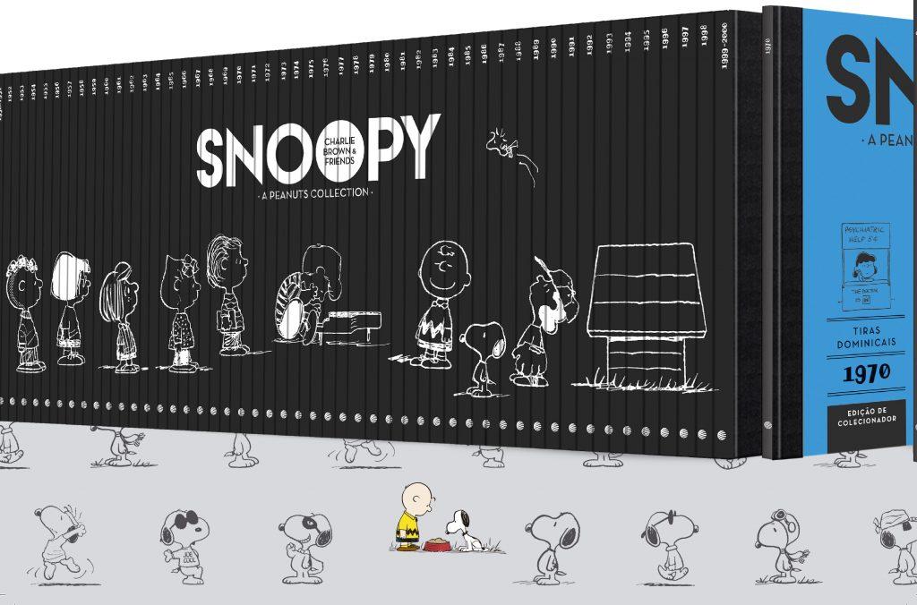 Snoopy ganha coleção especial em comemoração aos 70 anos