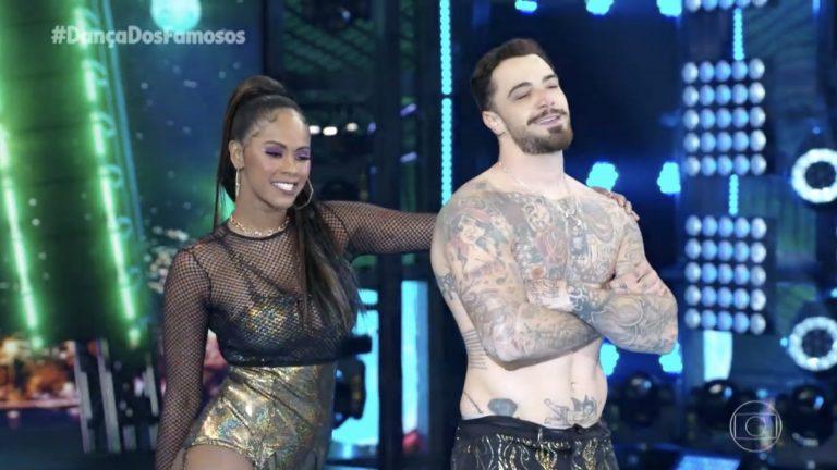 Felipe Titto lamenta incidente no Dança dos Famosos