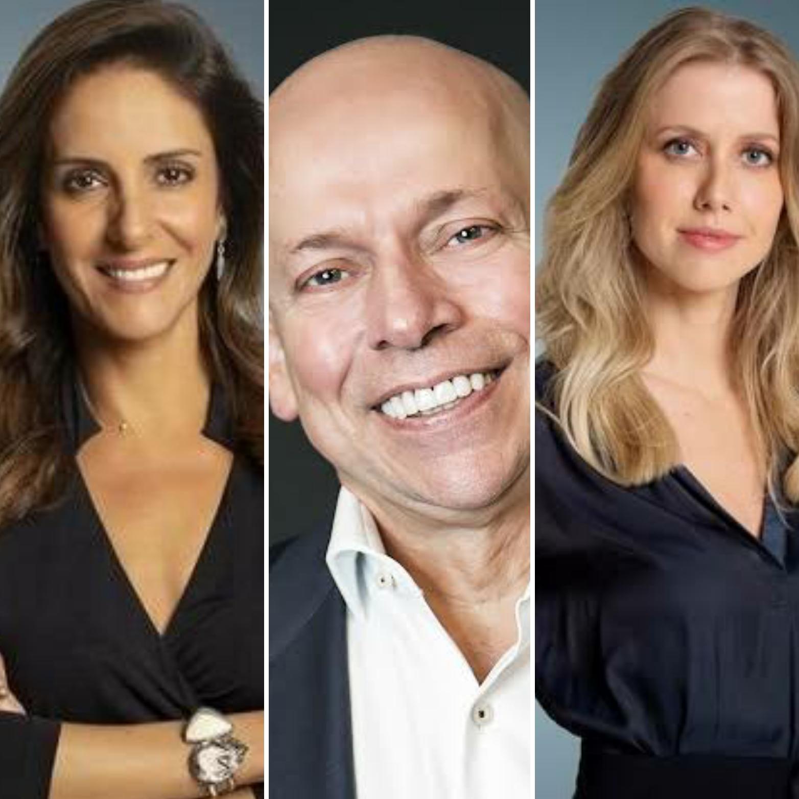 Âncoras da CNN, Monalisa, Karnal e Prioli, testam positivo para Covid 19