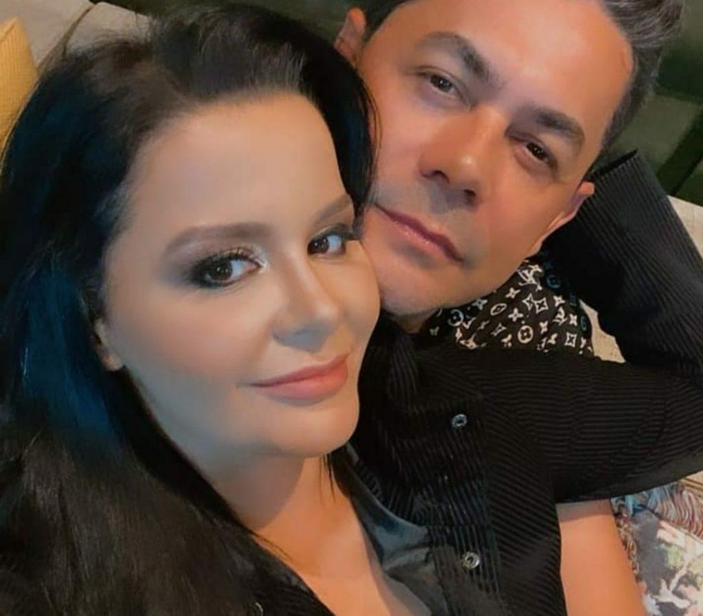 Maraisa e seu ex namorado Fabricio