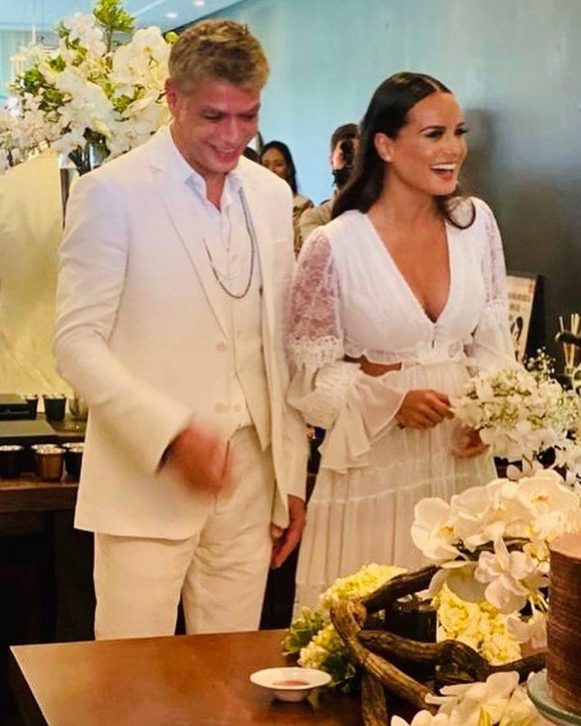 Fábio Assunção se casa com advogada no Rio de Janeiro