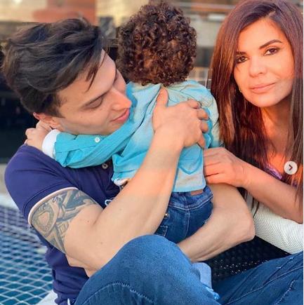 Mara Maravilha, o noivo e seu filho testam positivo para Covid 19
