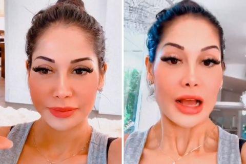 Mayra Cardi tem suspeita de COVID após aniversário da filha