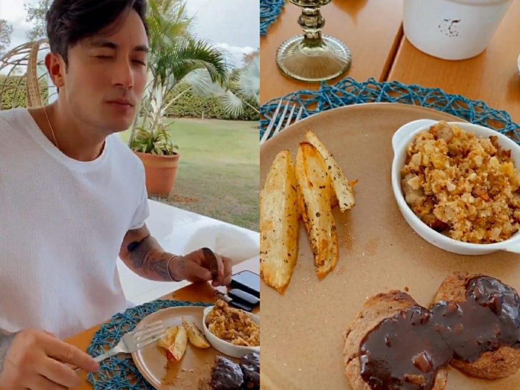 Almoço de domingo na casa da ex-BBB