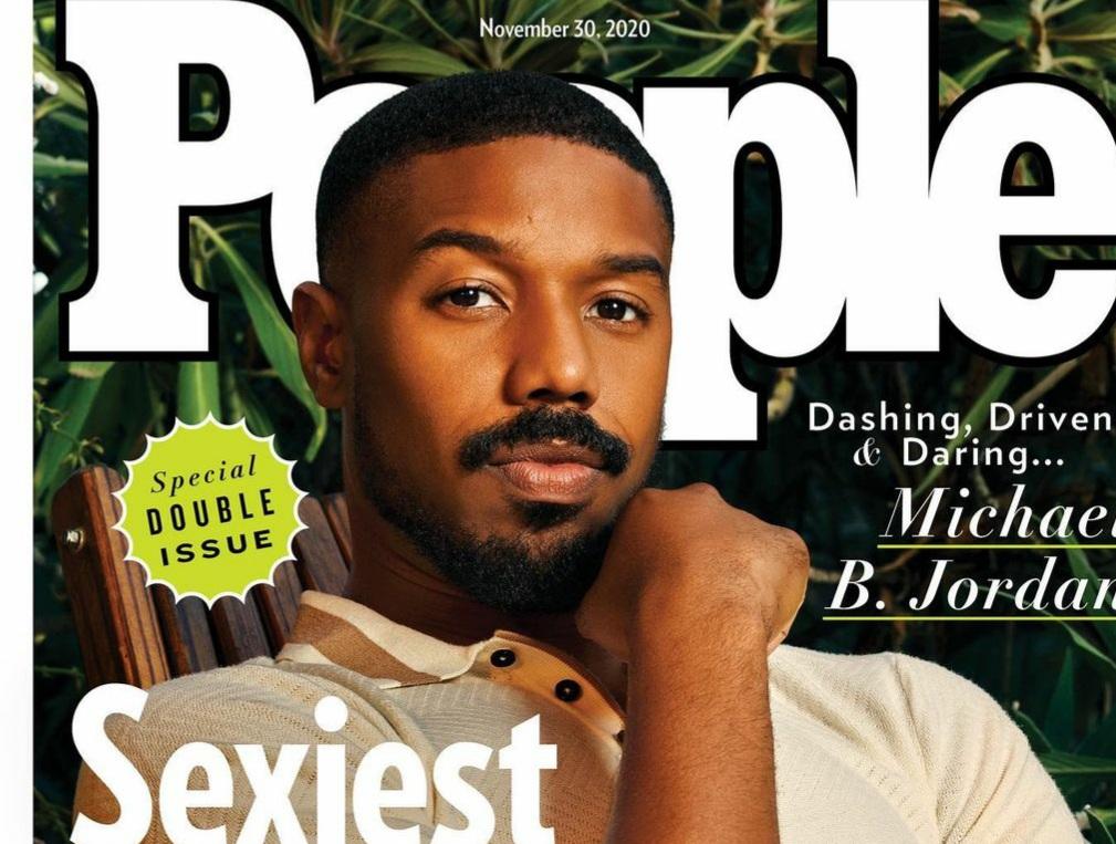 Michael B. Jordan é eleito o homem mais sexy do mundo em 2020