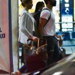 Após rumores de término, Grazi Massafera e Caio Castro desembarcam juntos em São Paulo