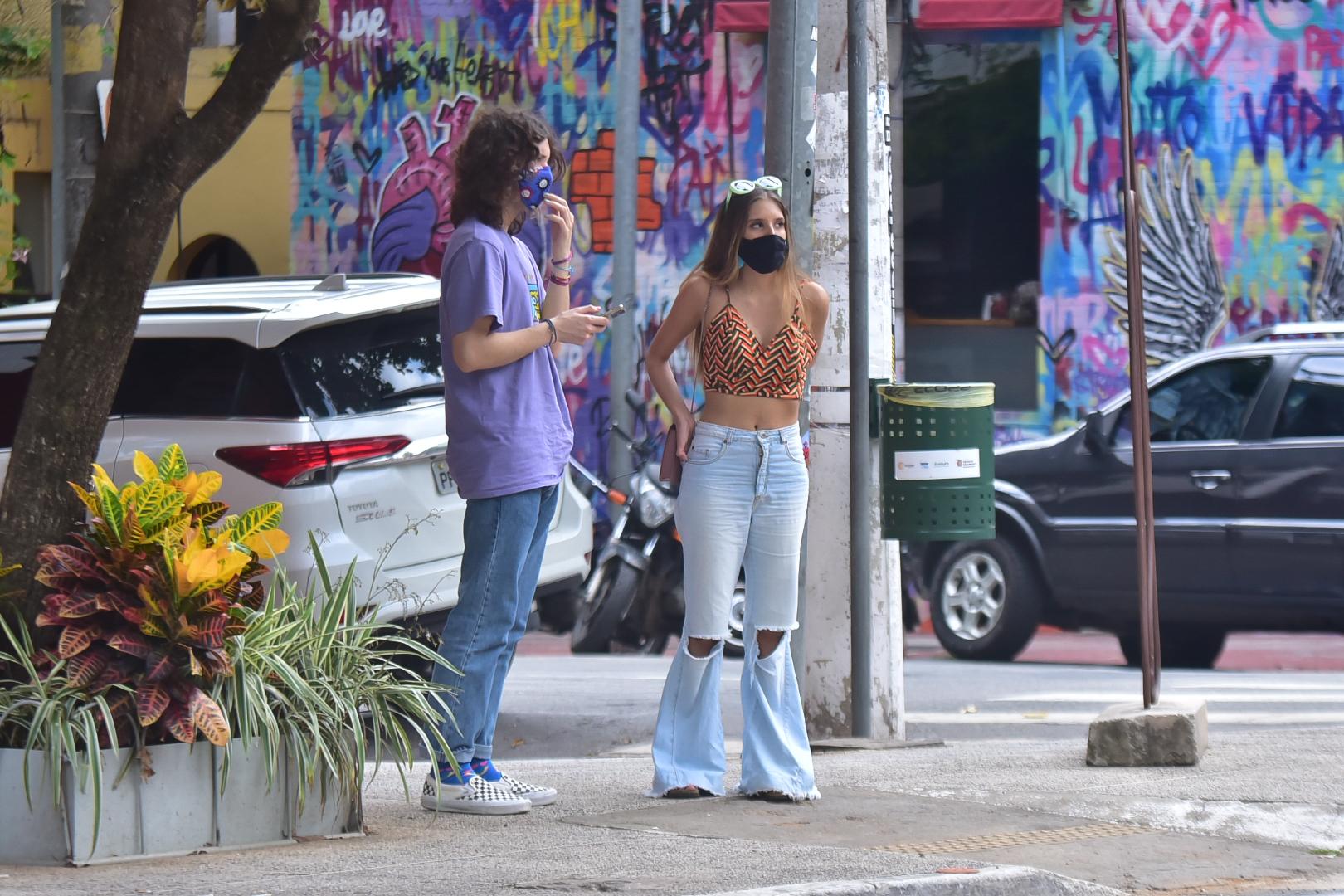 Novo Affair?! Lucas Jagger é flagrado com Marcela Montellato, ícone do TikTok