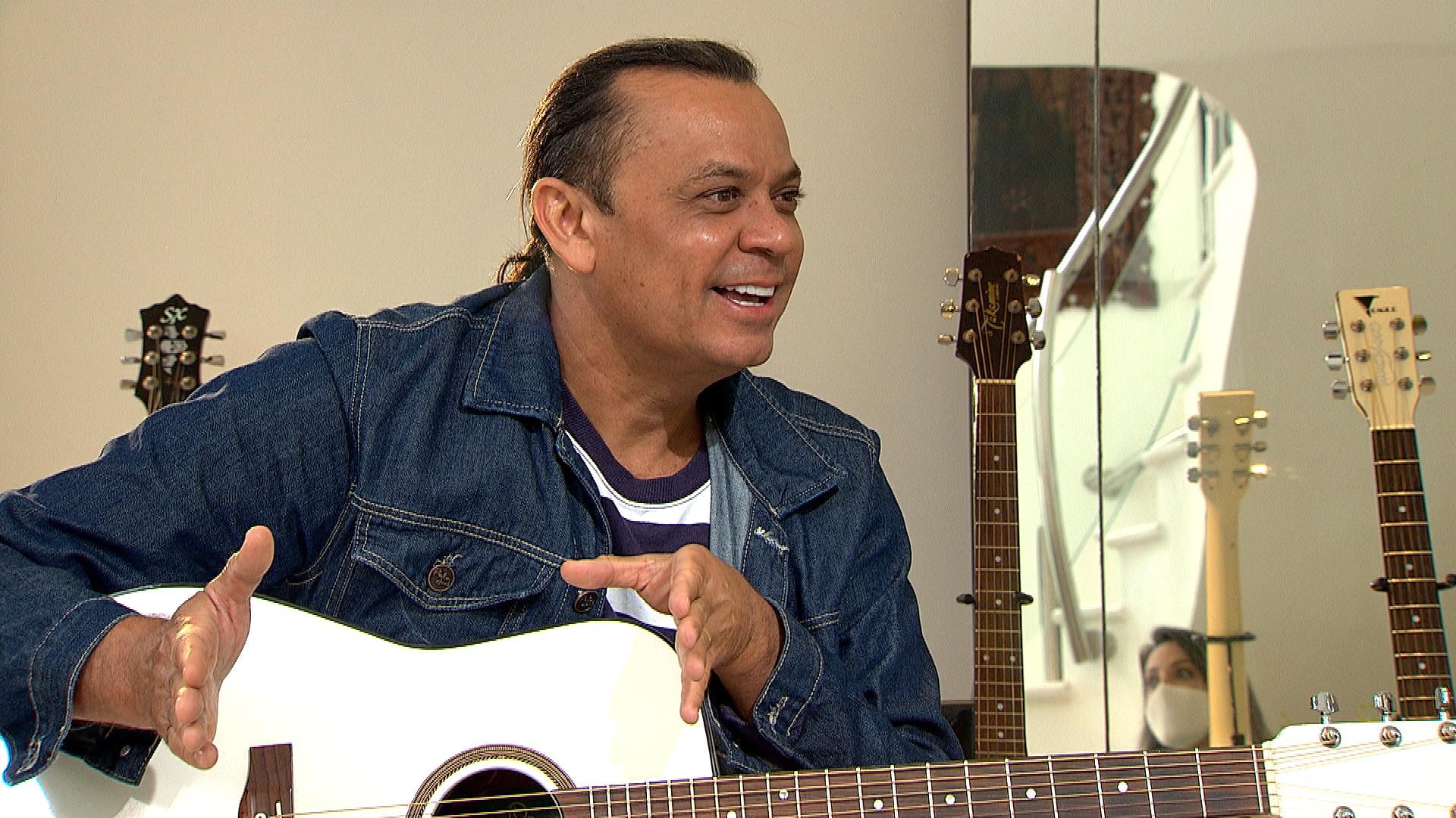 Frank Aguiar muda nome artístico após 30 anos de carreira