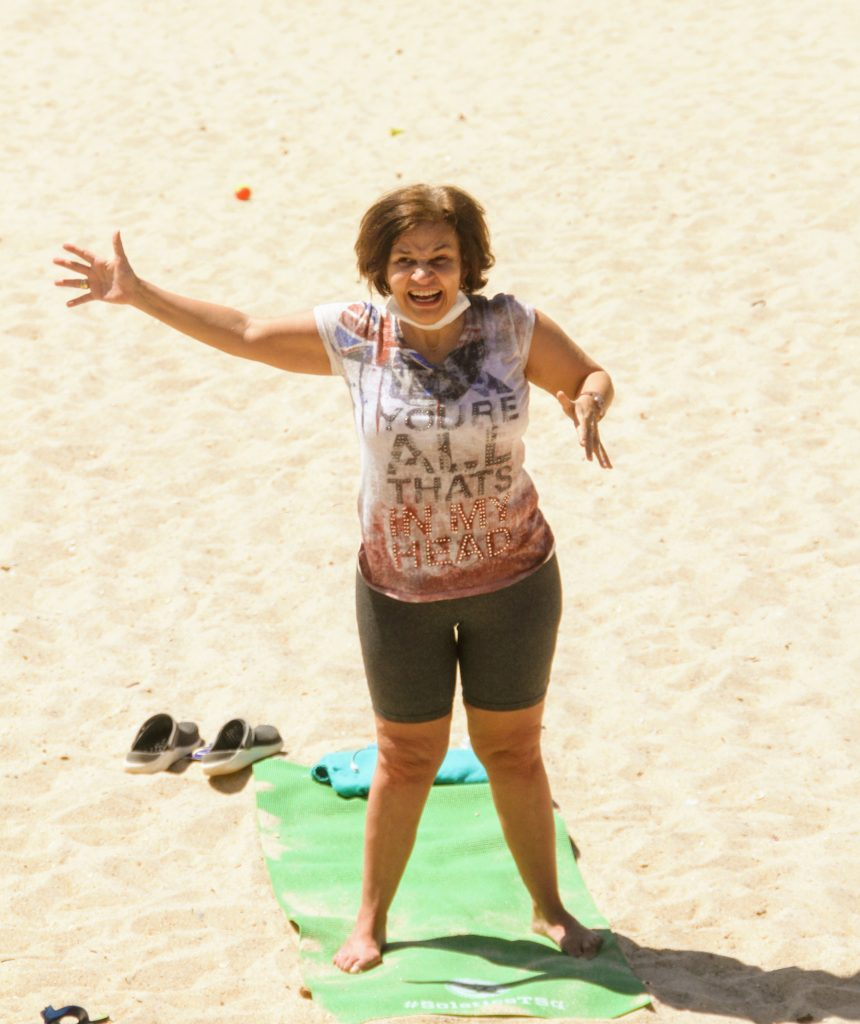 Voltando a ativa! Após complicações médicas, Claudia Rodrigues volta aos exercícios