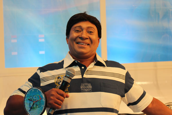Humorista Pedro Manso está com Covid-19