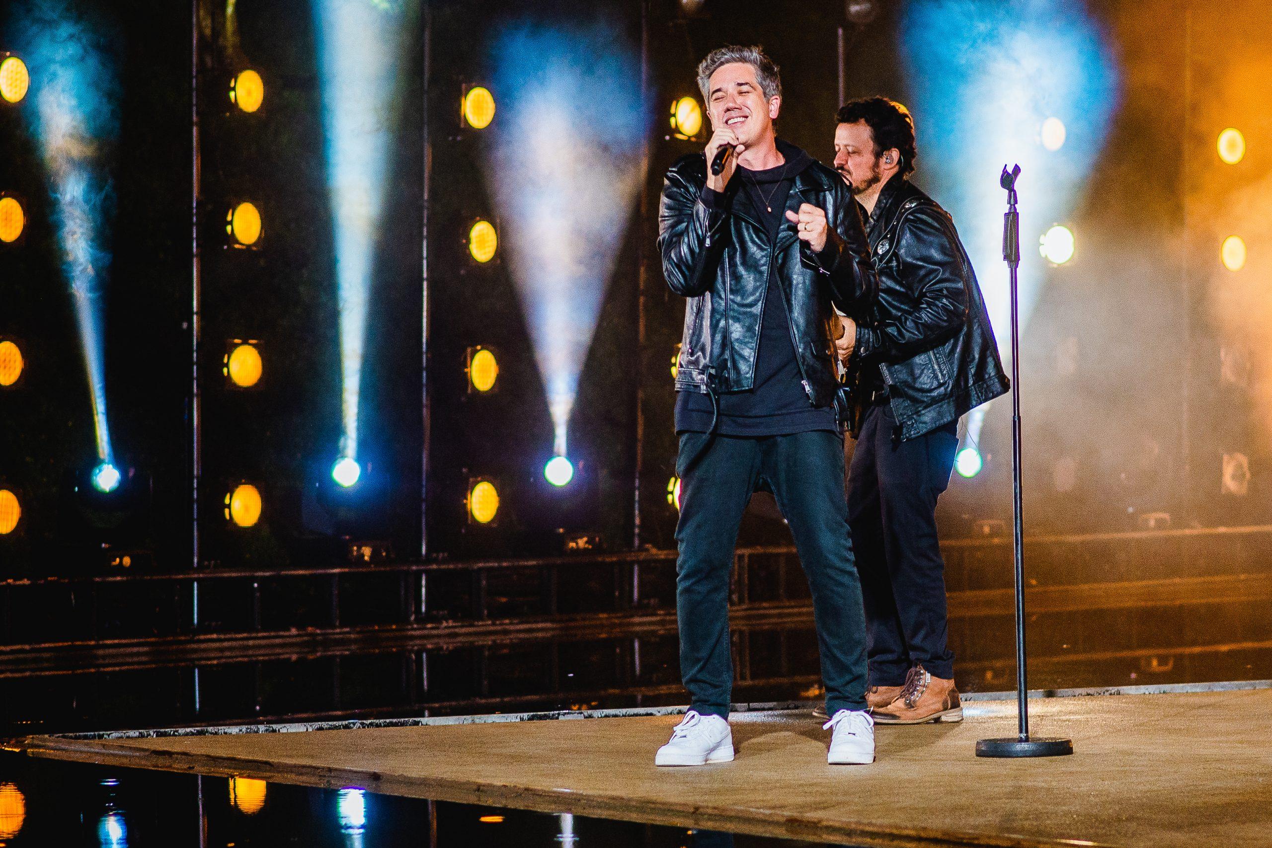 Skank e Jota Quest cantam em Brumadinho no Prêmio Multishow