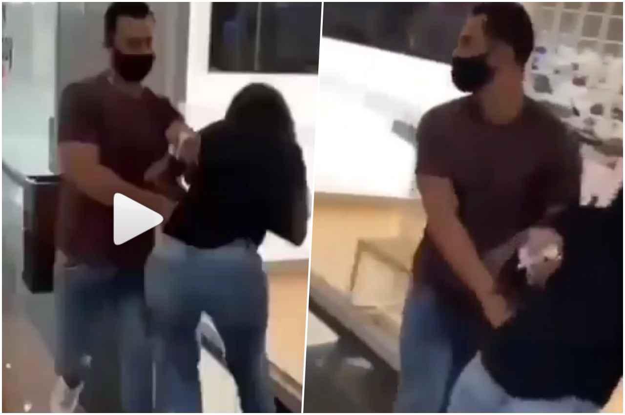 [Cenas fortes] Cantora gospel apanha do marido em shopping do Rio