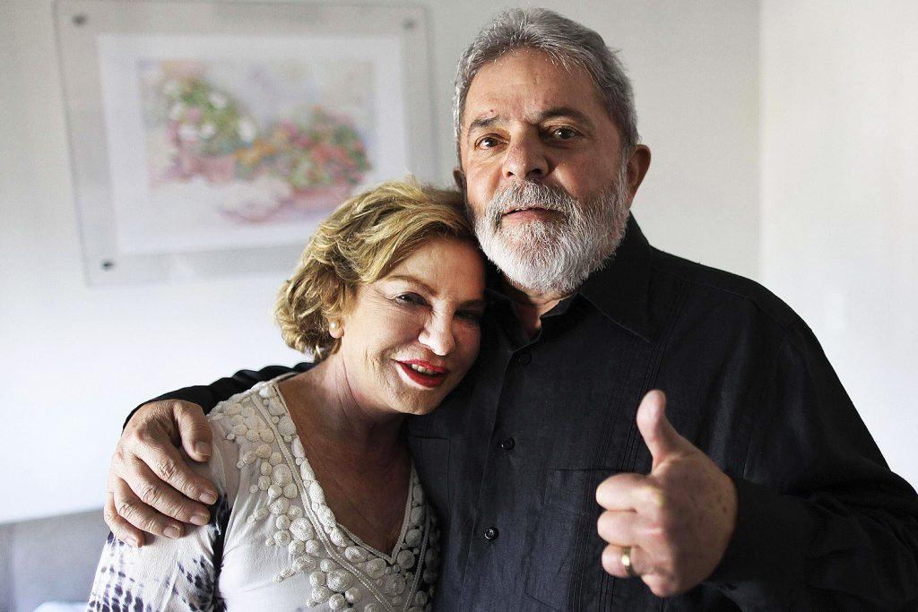 Regina Duarte é processada por família de Lula