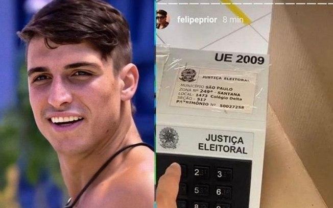 Felipe Prior comete crime eleitoral ao mostrar voto