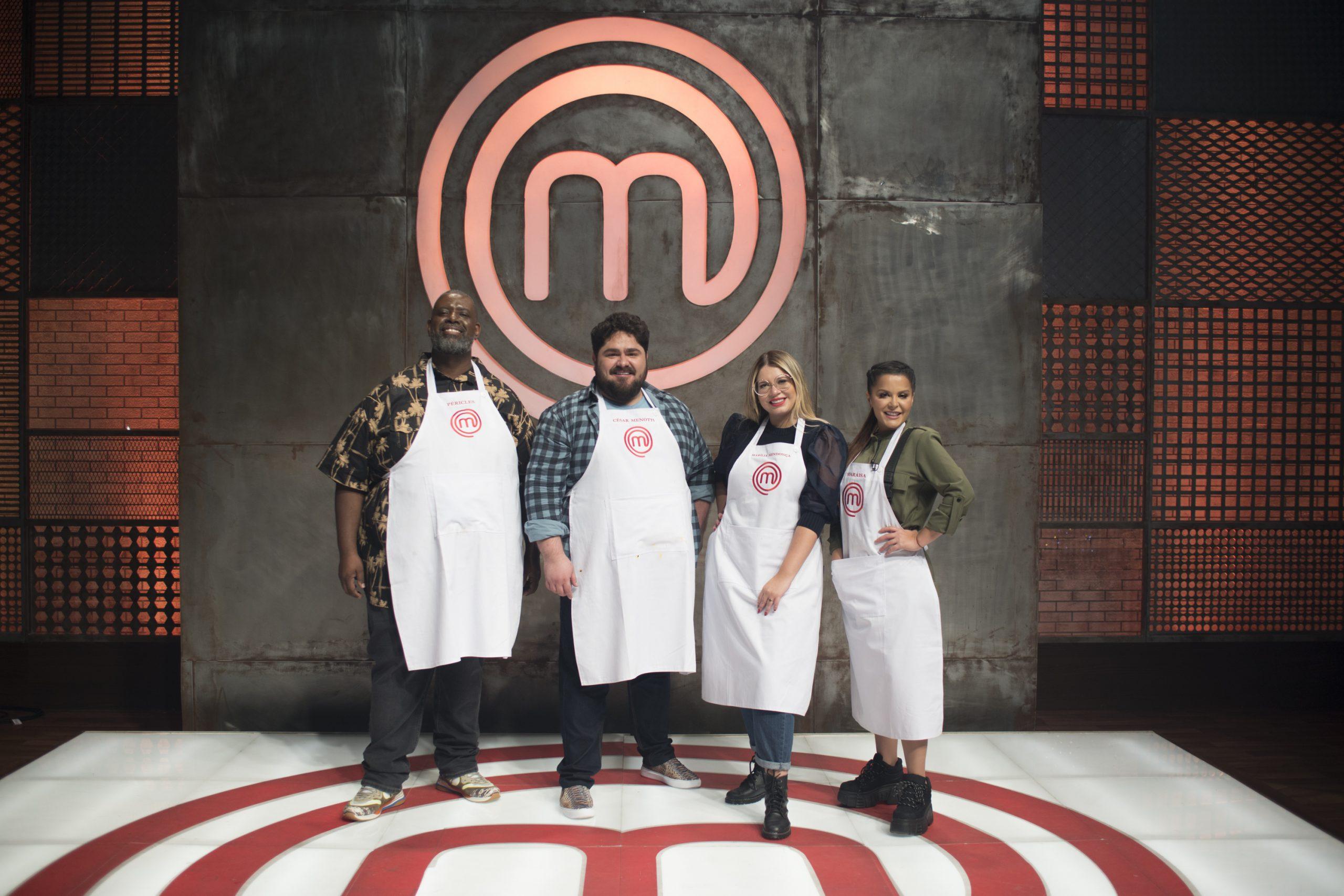 Marília Mendonça, César Menotti e Maraisa cozinham no Masterchef