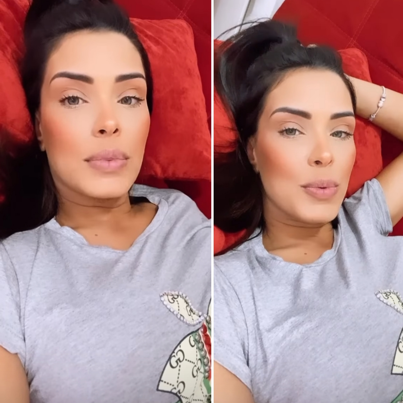 """Ivy Moraes fala após suposta traição """"Não temos uma vida perfeita"""""""