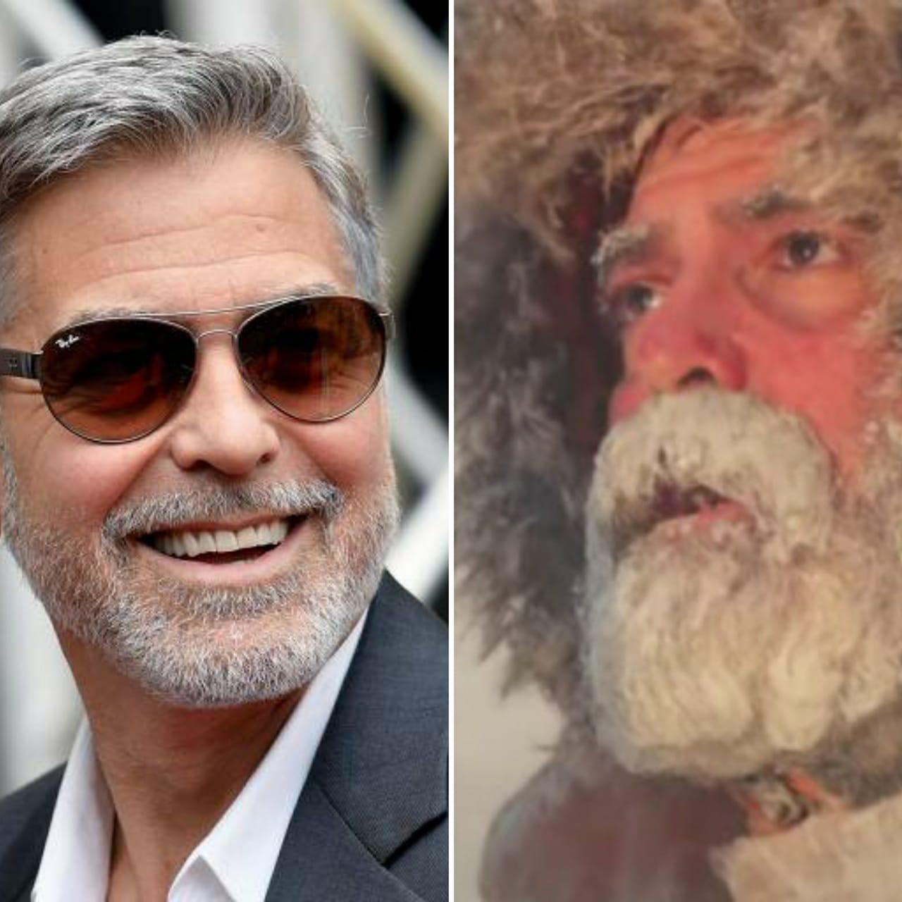 George Clooney passa por internação de urgência após perder 12 quilos