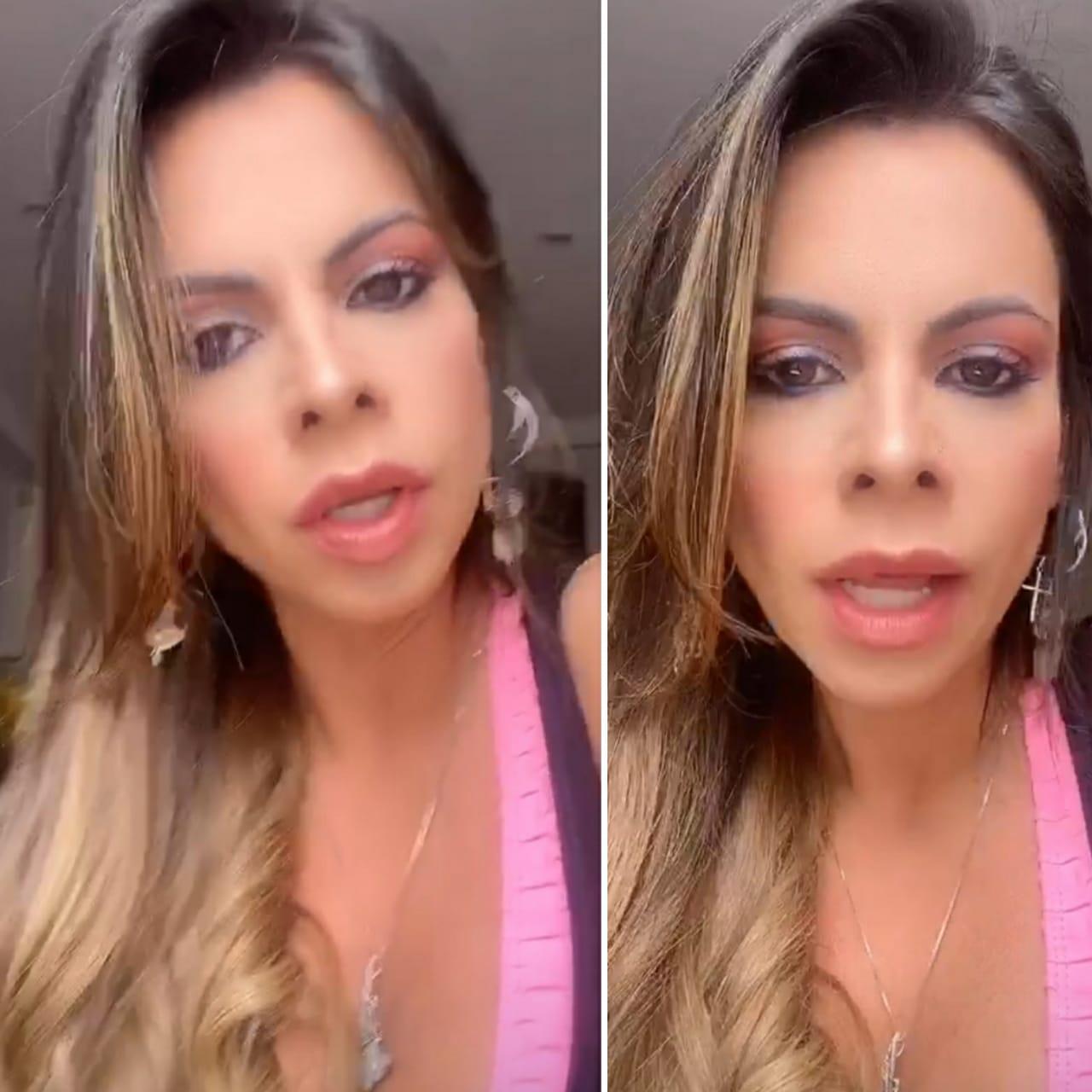 Namorada de Marlon pede limitar contra a ex do cantor
