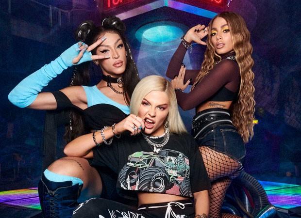 Anitta se inspirou em Free Fire para clipe com Luisa Sonza e Pabllo Vittar