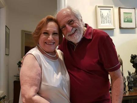 Ary Fontoura manda mensagem a Nicette Bruno, internada com Covid