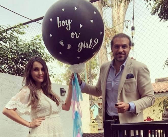Ex-RBD Dulce Maria dá à luz a primeira filha, Maria Paula