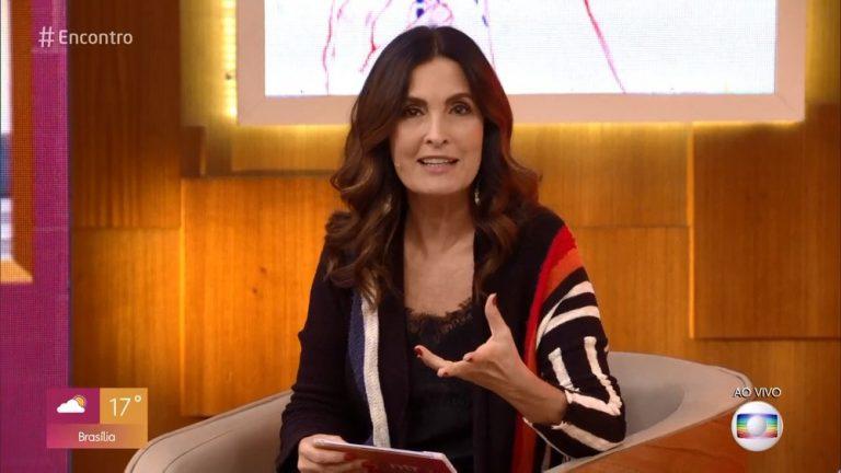 Fátima Bernardes está com câncer: 'Estágio inicial'