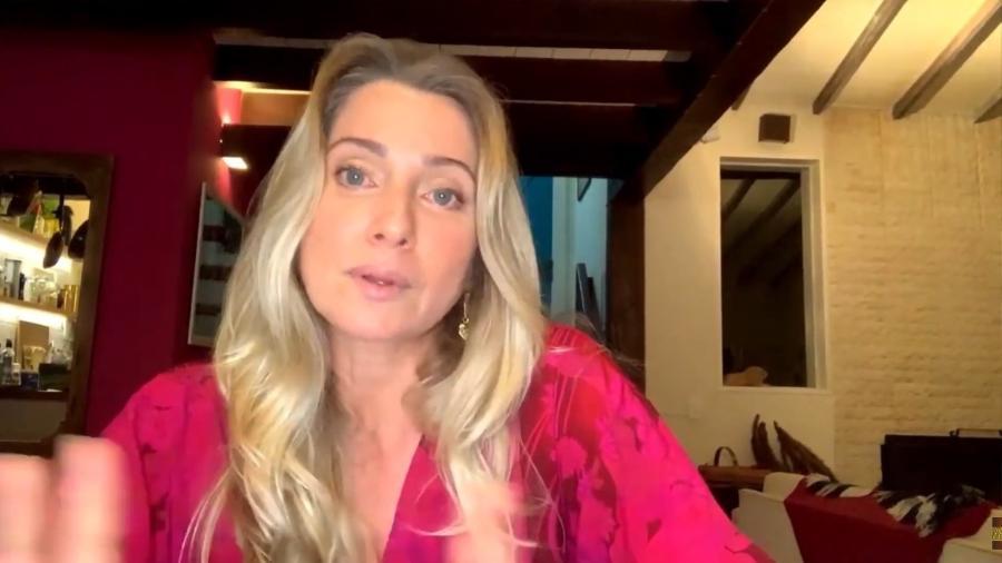 Letícia Spiller questiona a acusação de assédio contra Melhem