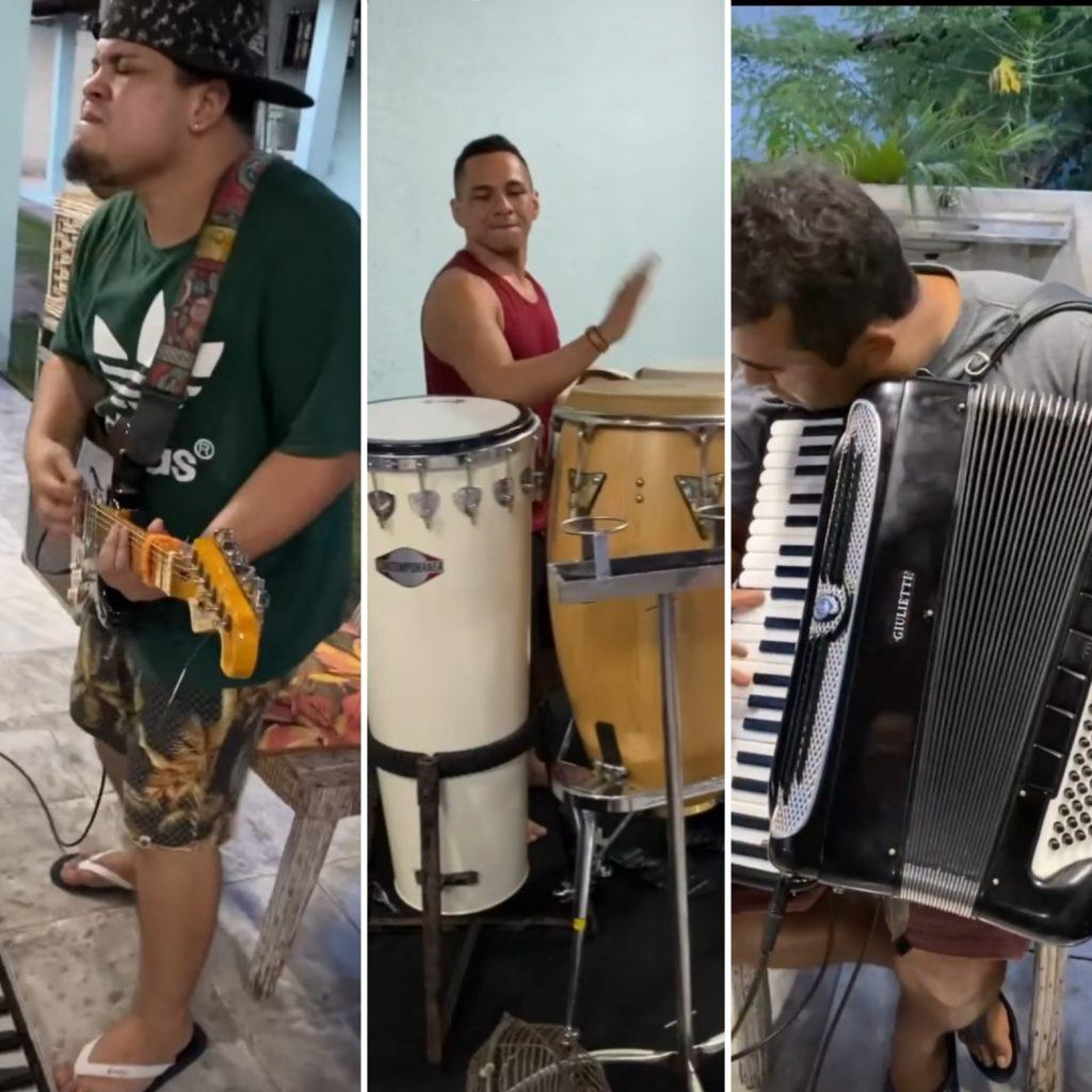 Sítio de Solange Almeida é alvo de denúncia por aglomeração