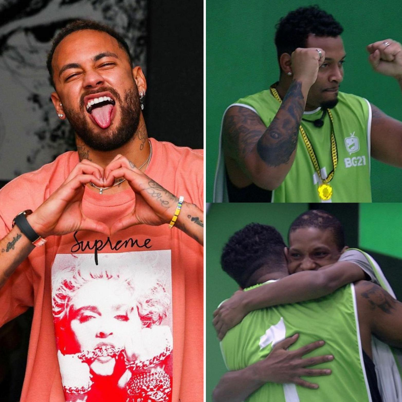 """Neymar questiona prova do líder """"Projota bateu primeiro"""""""