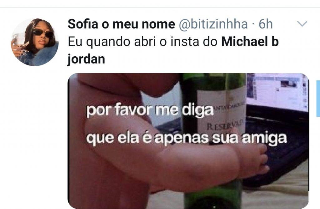 Michael B. Jordan assume namoro e vira meme na web
