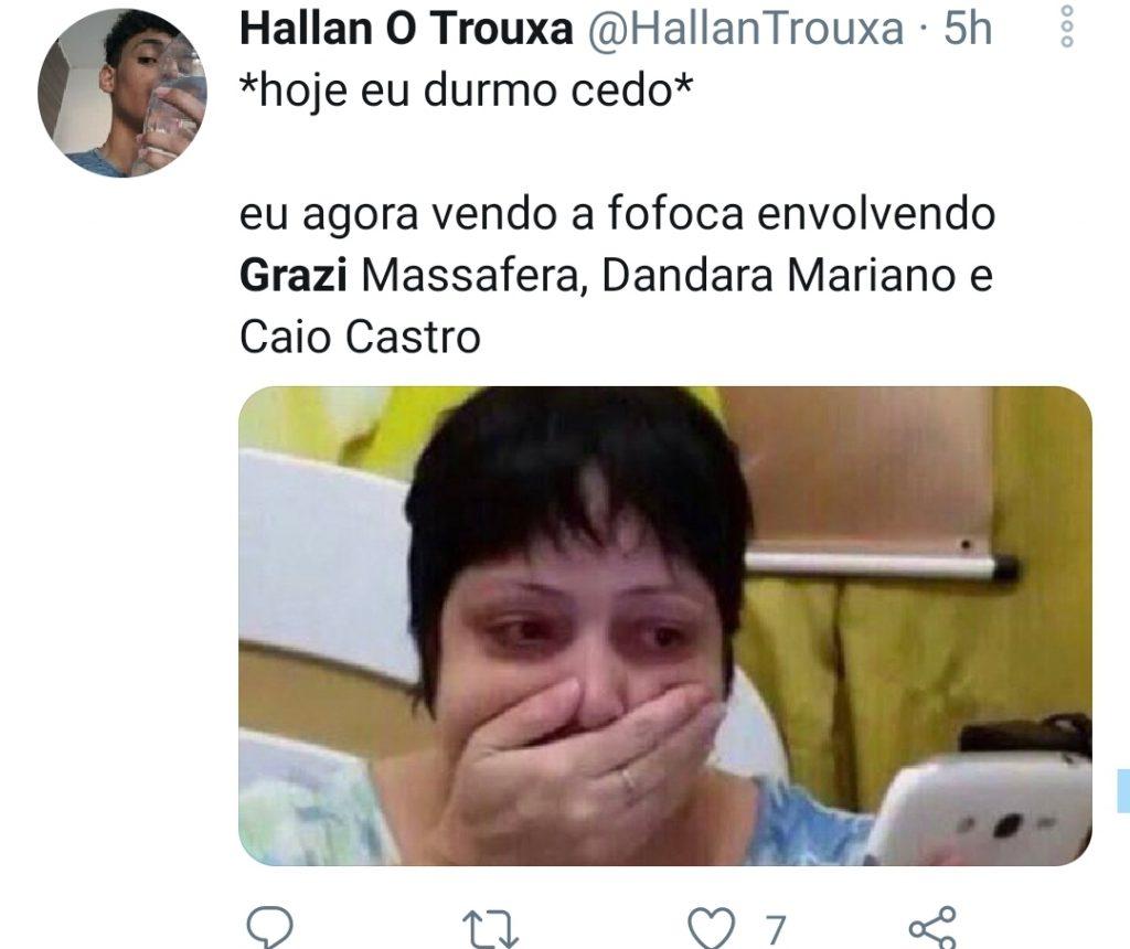 Grazi Massafera se manifesta após rumores de crise com Caio Castro