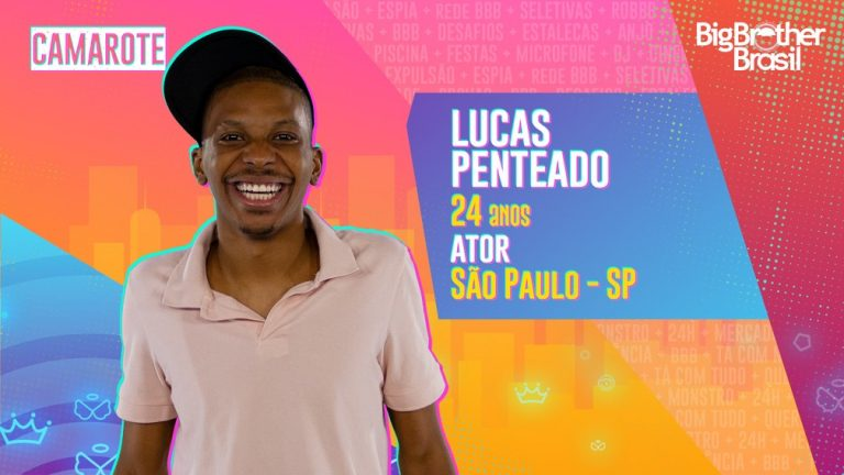 Lucas Penteado está no BBB21