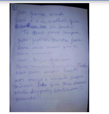 Após se recuperar de Covid-19, cantor morre de pneumonia e deixa carta para esposa