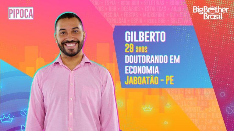 Gilberto estará no BBB21