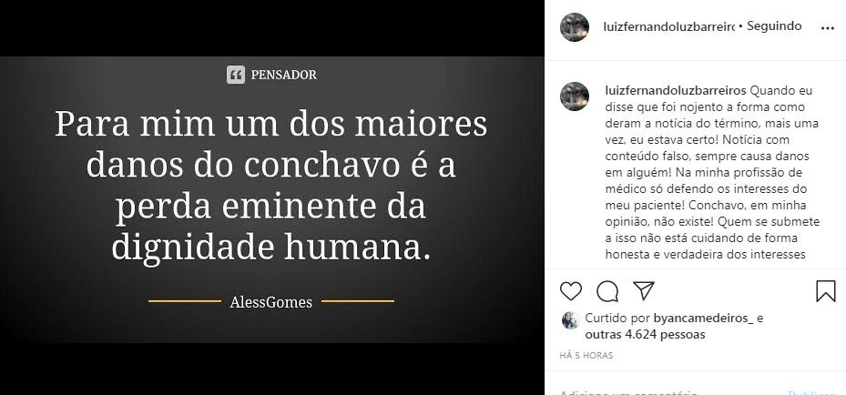 """Pai de Duda Reis fala sobre término da filha com Nego do Borel """"Não perdoo conchavos"""""""