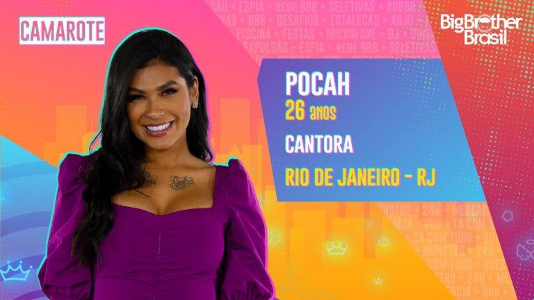 Globo confirma Pocah no Camarote do BBB21