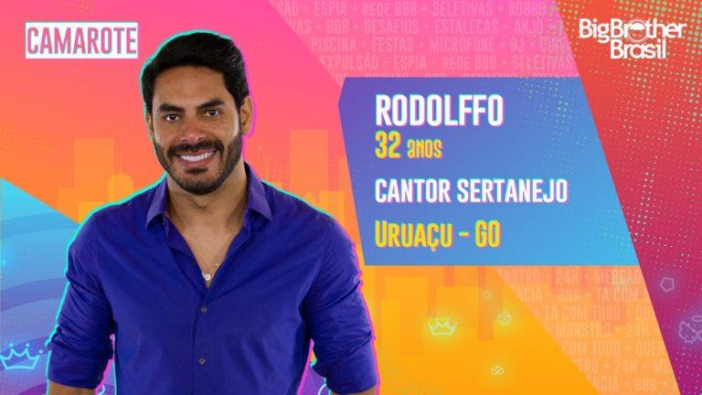 Rodolffo estará no BBB21