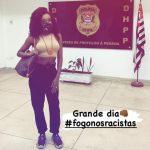 Ex-BBB Thelma Assis depõe após denúncias de racismo