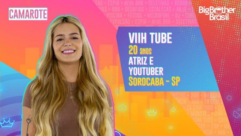 Viih Tube está confirmada no BBB21