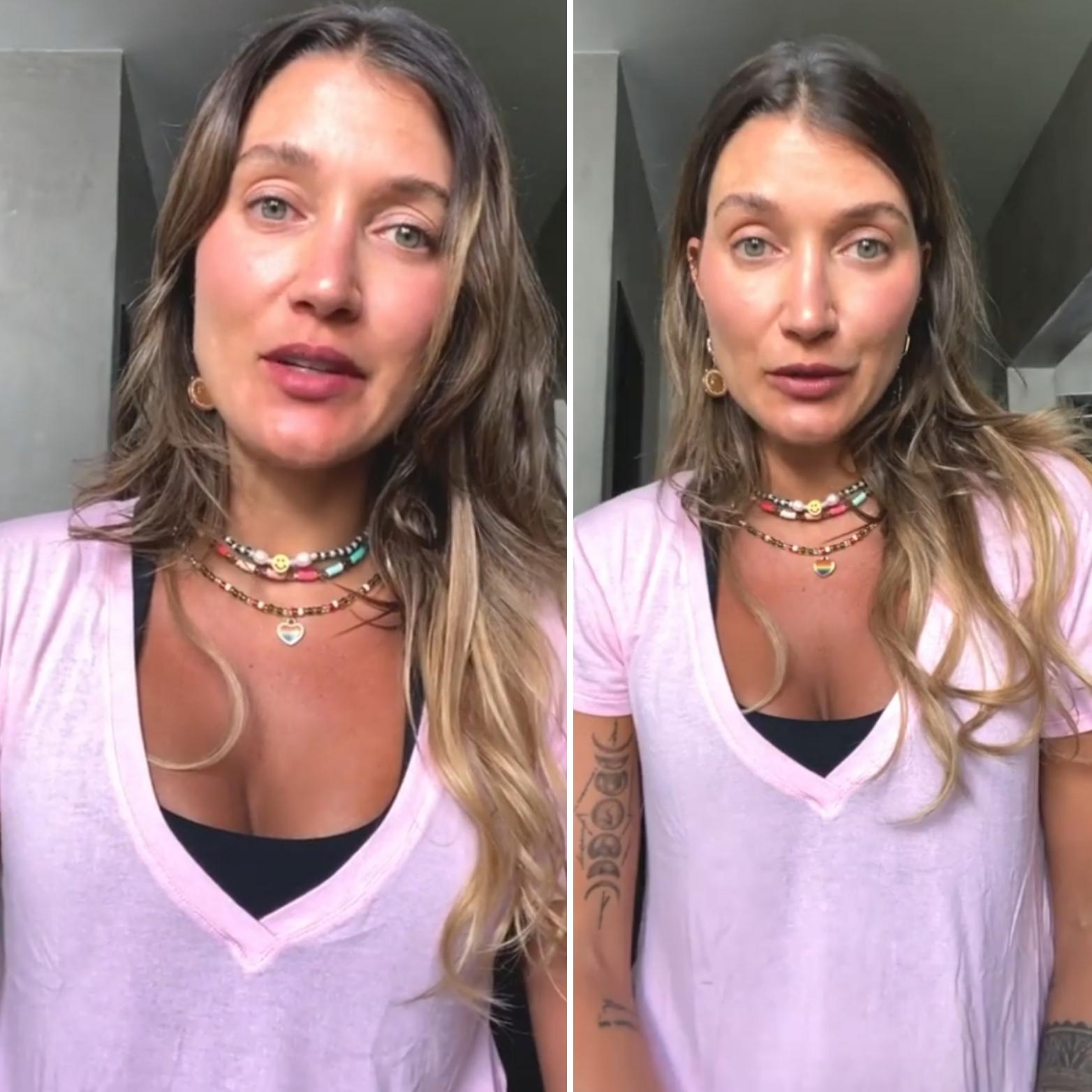 """Gabriela Pugliesi desabafa sobre separação """"Fiquei na m****"""""""