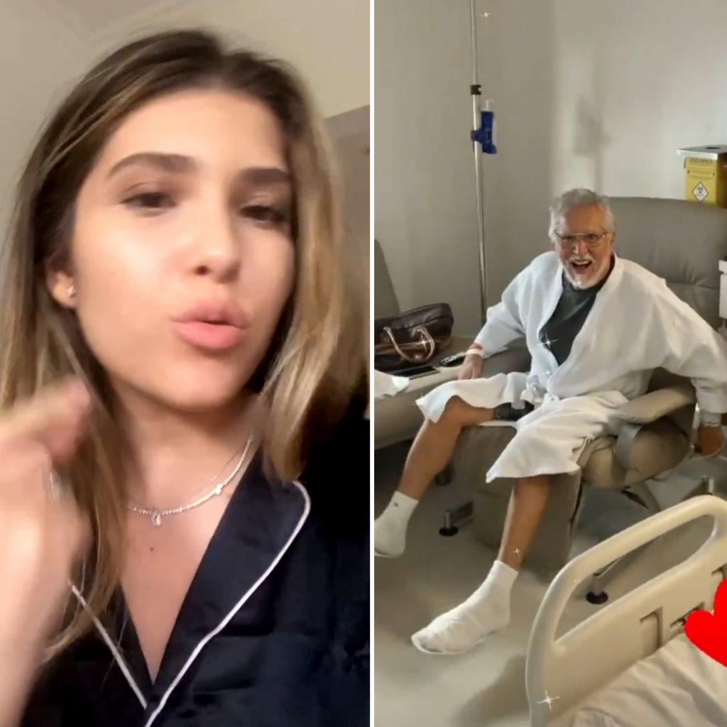 Filha de Carlos Alberto de Nóbrega rebate críticas após pai contrair Covid-19