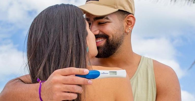 Dilsinho será papai: 'Te espero com todo amor!'