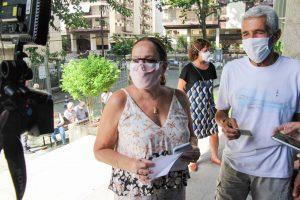 Susana Vieira toma vacina contra Covid-19 no Rio