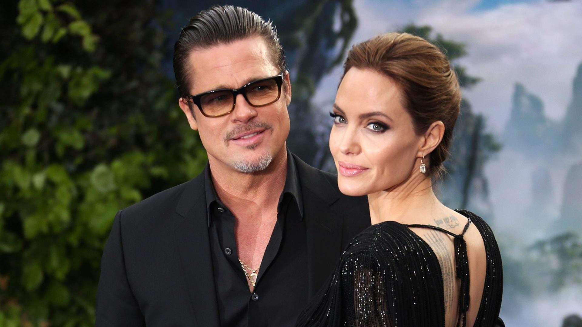 Angelina Jolie diz ter sofrido violência doméstica em processo de divórcio de Brad Pitt
