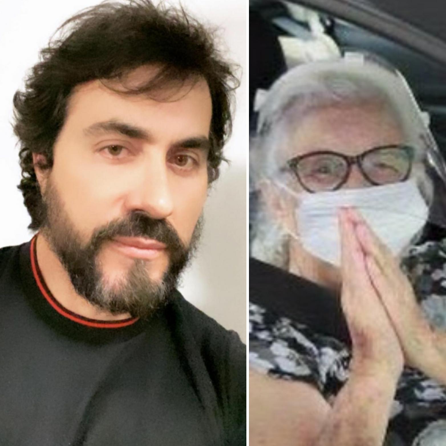 Mãe do Padre Fábio de Melo piora e vai para UTI com Covid-19
