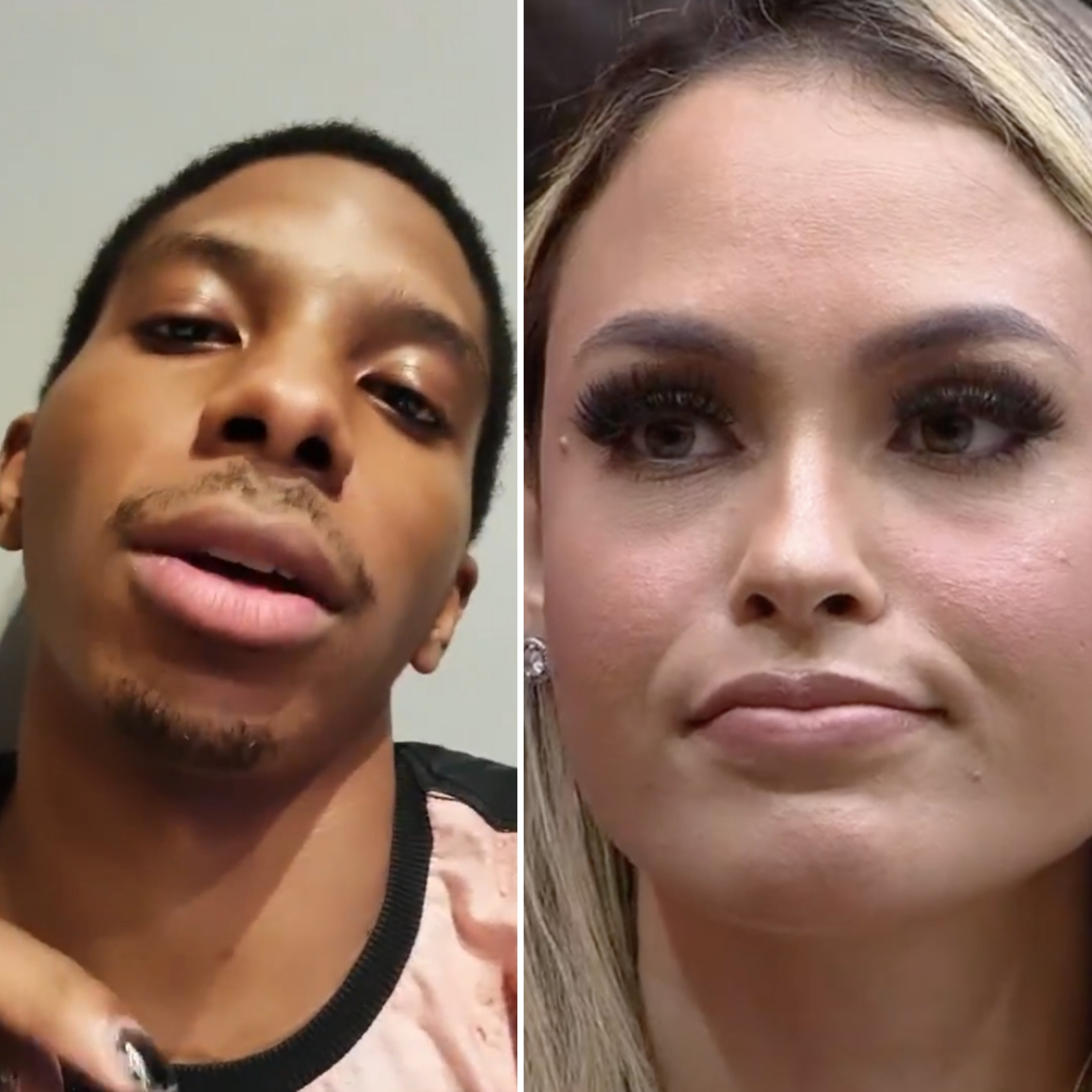 Lucas Penteado faz vídeos defendendo Sarah, se arrepende e apaga