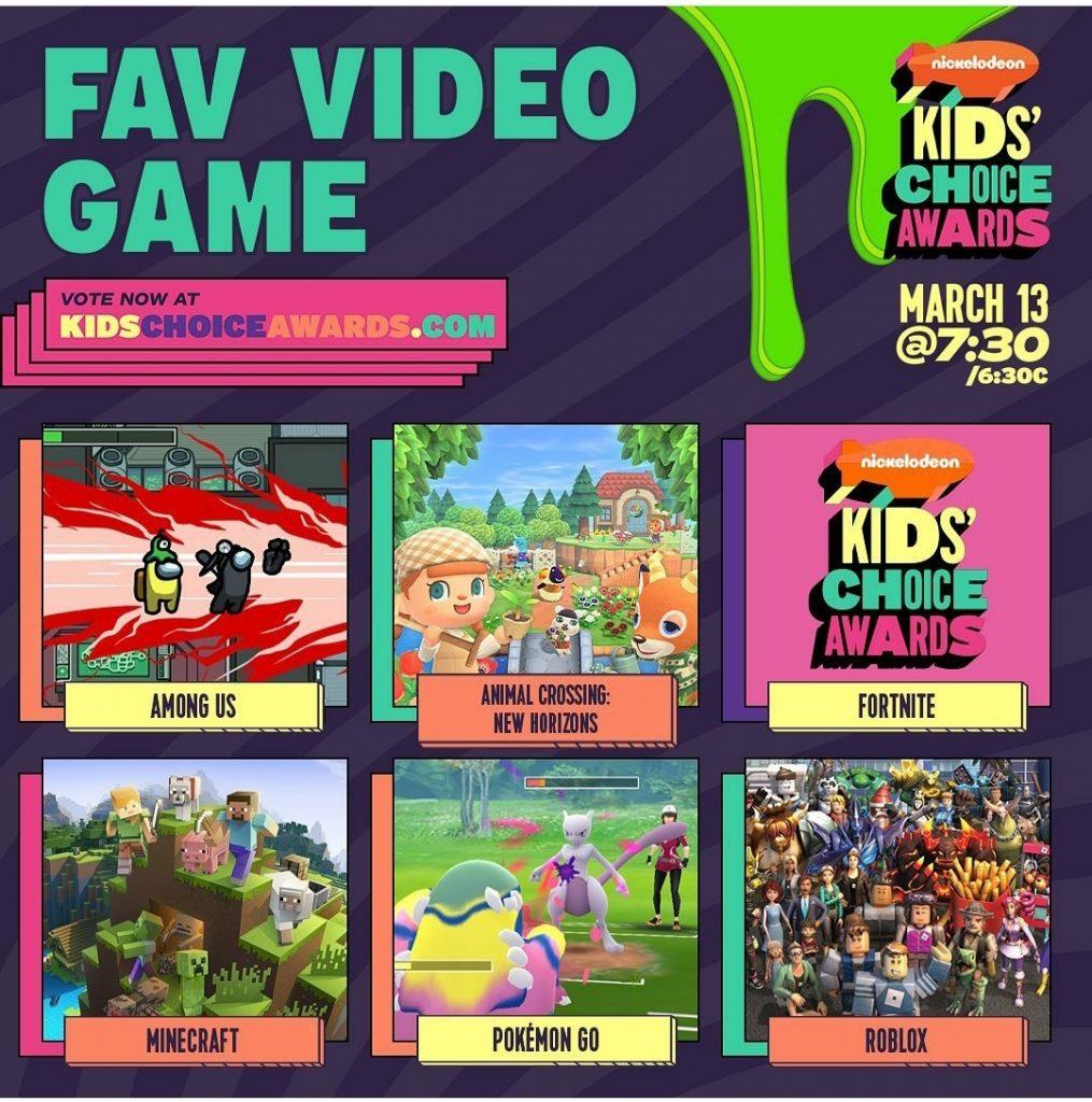 Brasileiros são indicados ao Kids Choice Awards. Veja lista completa!