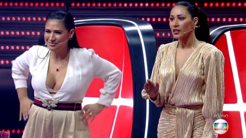 Simone e Simaria deixam o The Voice Kids